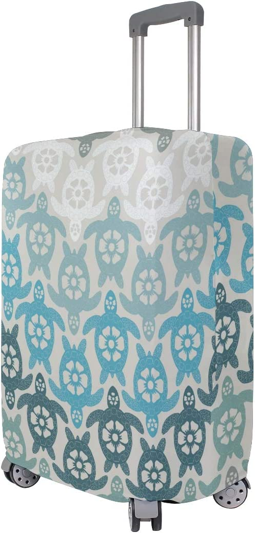 Fit 18 to 32 Jacksome Sea Turtles Cute 3D Luggage Protector Suitcase Cover Size XL 29-32 inch