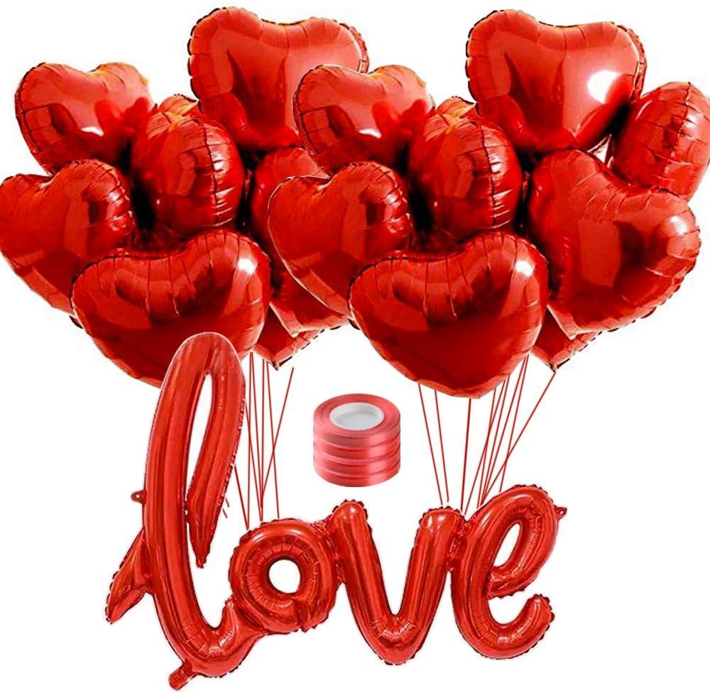 Turquoise, Rose, Blanc Multicolore VOANZO 100 PCS 2,2 g 12Ballon en Forme de Coeur en Latex pour Anniversaire Mariage fian/çailles Anniversaire de No/ël et d/écorations de f/ête de Famille