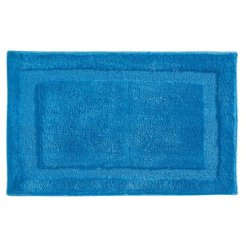 InterDesign Microfiber Spa Bathroom Accent Rug, 34