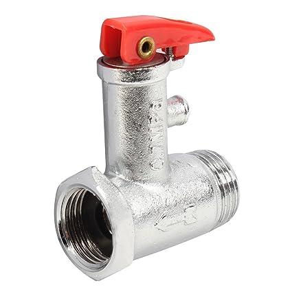 Calentador de agua eléctrico 0,7 Mpa Metal ayuda a aliviar las tensiones válvula de