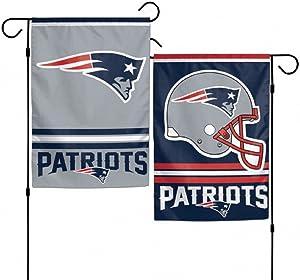 "WinCraft NFL New England Patriots WCR08374013 Garden Flag, 11"" x 15"""