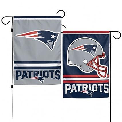 c113090228 Amazon.com   NFL New England Patriots Garden Flag   Sports Fan ...