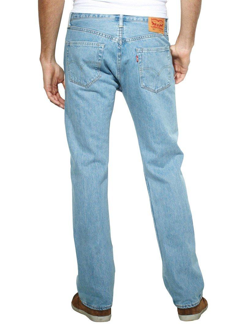 Levi's Mens 501 Straight Jeans Blue Size 32 Length 34 (Us)