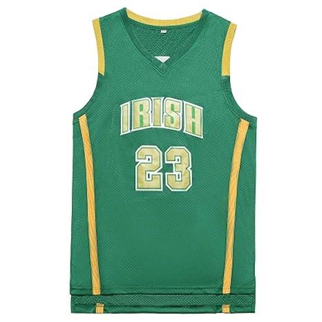 Lebron James # 23 Jersey del Baloncesto de los Hombres, Escuela ...