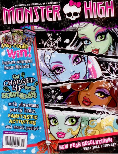 Official Monster High Magazine Issue # 5 U.s.