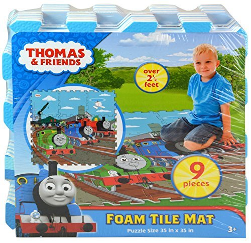 Thomas 9pc Foam Tile Mat