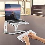 ノートパソコン スタンド ラップトップ スタンド アルミ 取り外し可能 頸椎負担軽減 Apple Samsung HP 等に対応