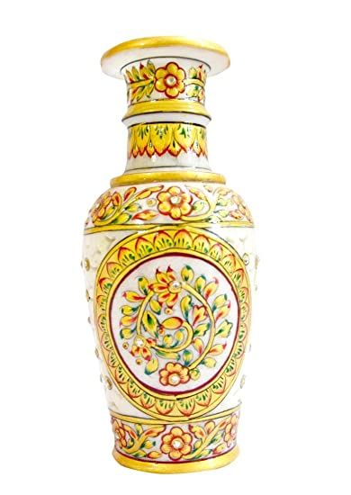 Buy Marble Handicraft Vase perfect home decor Online at Low