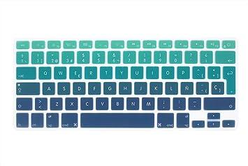 """Wayes - española Cubierta del teclado / Keyboard Cover para MacBook Pro 13"""" 15"""""""