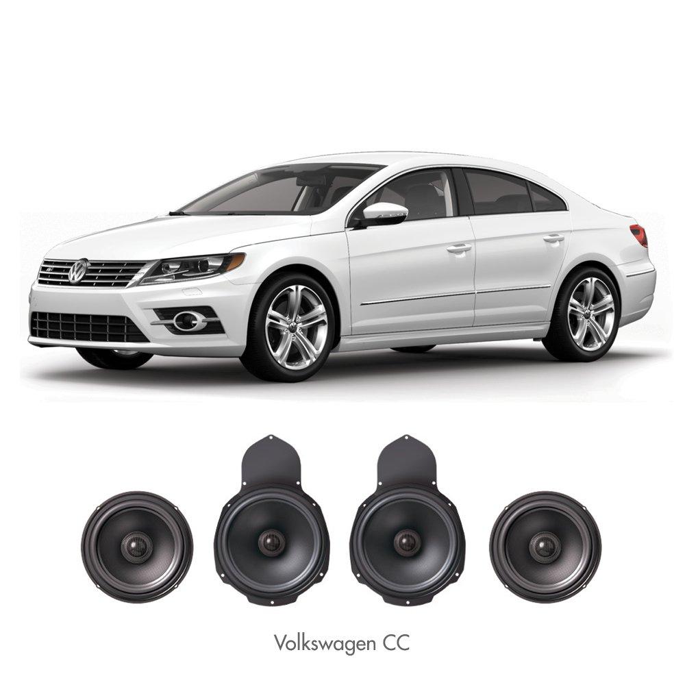 VW PASSATパサートワゴンCC 8スピーカーOEサウンドアップグレードキット Hi-Fi Inspirit VHK2 B071FJPVZH Hi-Fi Inspirit  HiFi Inspirit