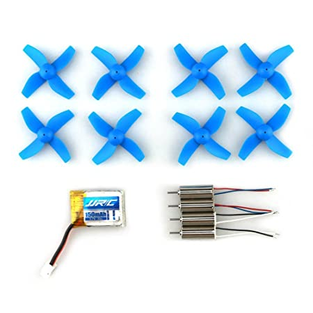 H36-0003 Micro Drone Spare Parts With 3.7V150MAH Battery 4 Pieces ...