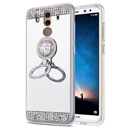 EINFFHO - Carcasa Huawei Mate 10 Pro, Espejo Funda Huawei ...