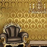 Amazoncom Gold Wallpaper Painting Supplies Wall Treatments