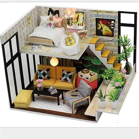 LCY Festival Chalet Assembly DIY Building Model Mini House ...