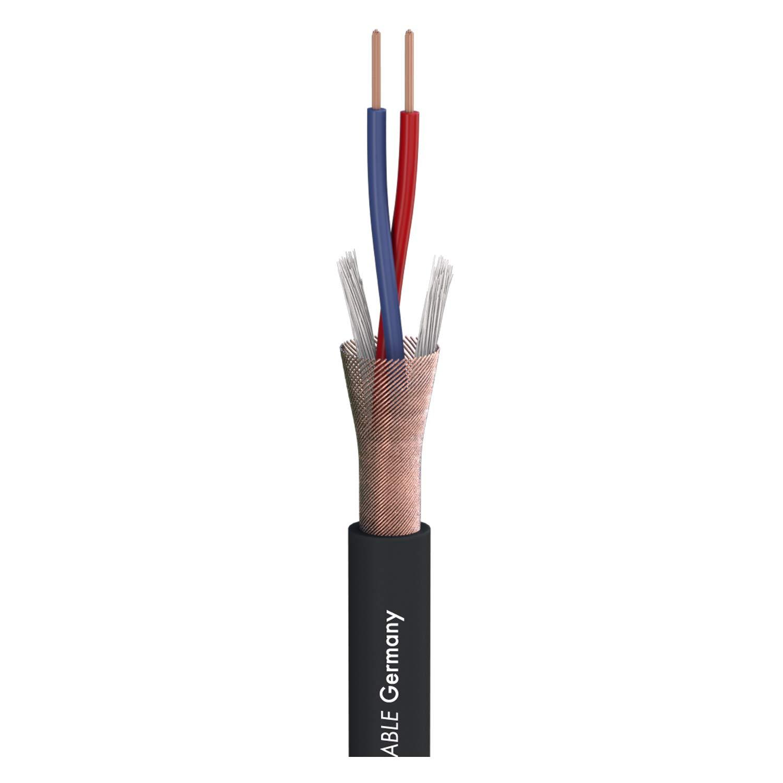 Cable Noir Sommer Cable Microphone Stage 22 Highflex /équip/é XLR 3 points male Neutrik NC3MXX // Jack St/ér/éo Neutrik NP3X 10m Made in Germany by Sommer Cable