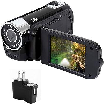 "Digital Camera Anti-shake 2.7/""LCD 1080P Night Vision 16x Zoom Camcorder Gifts"