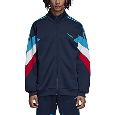 Adidas Men Originals Palmeston Track Jacket at Amazon Men's Clothing ...