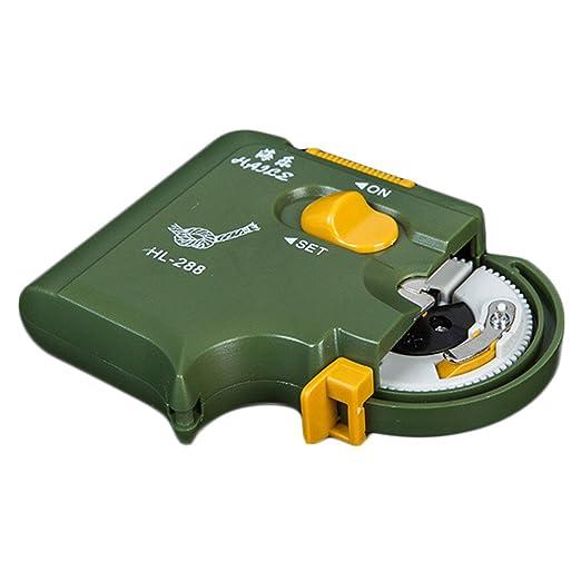 Hitchlike 釣り針結び器乾電池式自動結び器ABS製軽量取り扱い簡単内掛け結び簡単安全便利初心者持ち運び可滑り止め針仕掛け結び器釣具色ランダムの画像