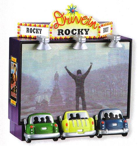 - Carlton Heirloom Rocky Movie Hologram Christmas Ornament #CXOR-138R