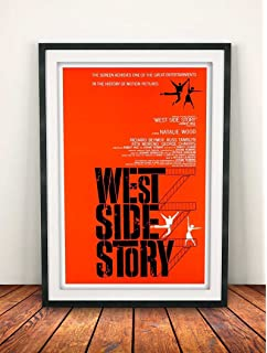 A1 West Side Story Vintage Movie Poster A2 A4 available A3