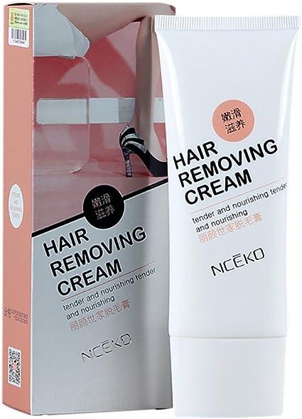 Yiitay - Crema depilatoria para depilación rápida para eliminar el pelo de la piel suave para hombres y mujeres: Amazon.es: Belleza