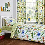 Bedlam - Jungle - Childrens Duvet Cover Set | Single Bed Size | Multicolour Bedding