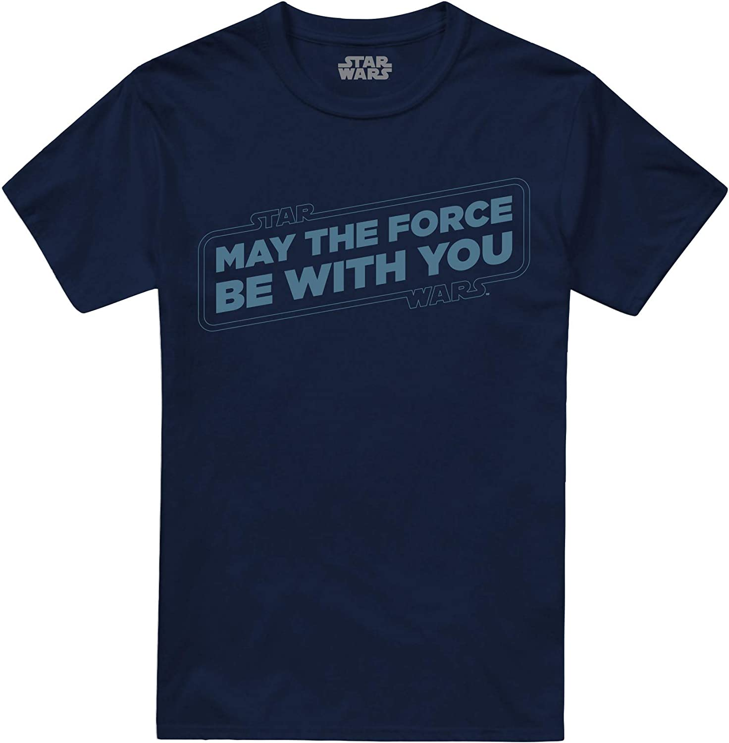 Star Wars Force Slogan T-Shirt Uomo