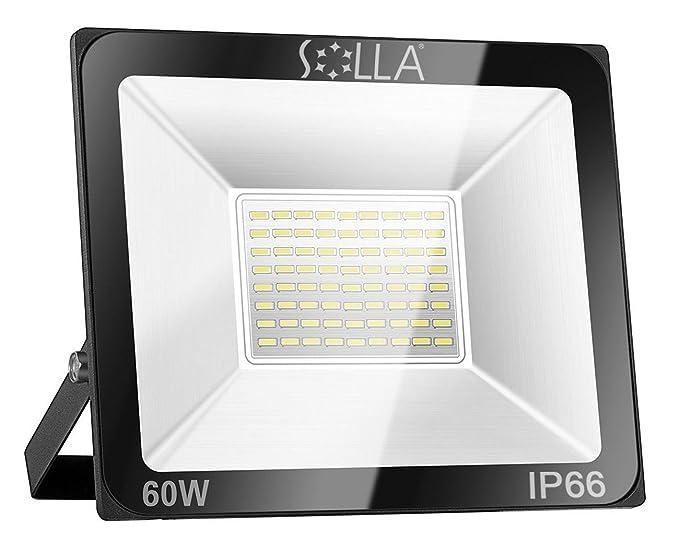 Solla Projecteur Led 60w Ip66 Impermeable 4800lm Eclairage