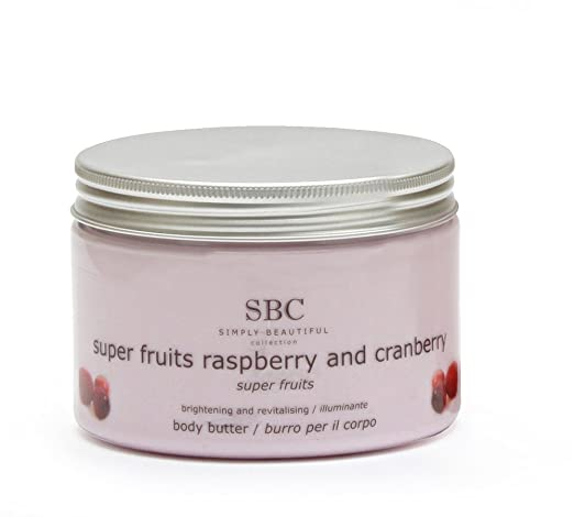 16 opinioni per SBC Raspberry & Cranberry Body Butter 450ml- SBC209e
