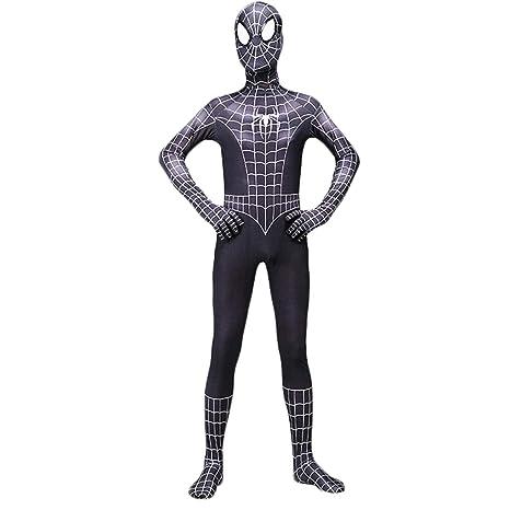 QQWE Traje de Disfraces de Spider Man, Traje de Batalla de ...