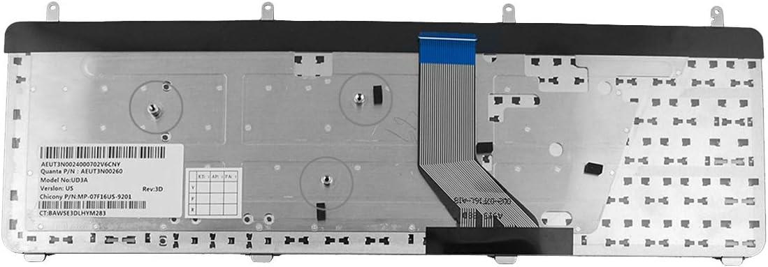 Big Enter Laptop Replacement Keyboard for HP DV7-2000 DV7-3000 Black