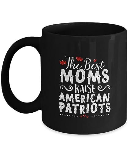 Amazoncom Best Moms Raise American Patriots Coffee Mug