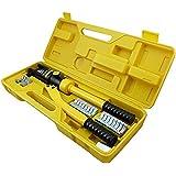 mctech hidráulico 101882 – Crimpadora 10 – 300 mm² Herramienta de prensa. de terminales de
