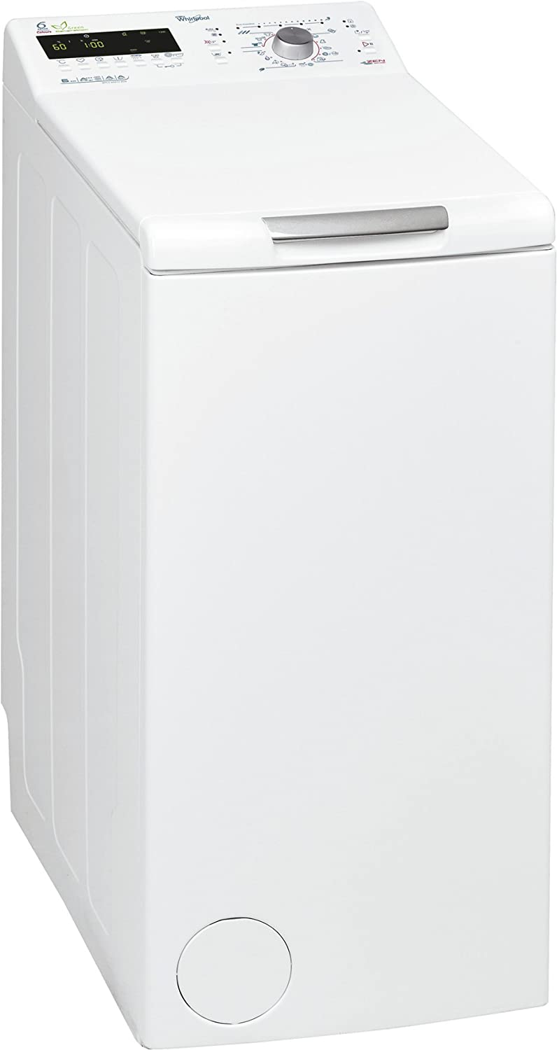 Whirlpool WTLS 60912 ZEN - Lavadora (Independiente, Color blanco, Superior, 6 kg, 1200 RPM, A)