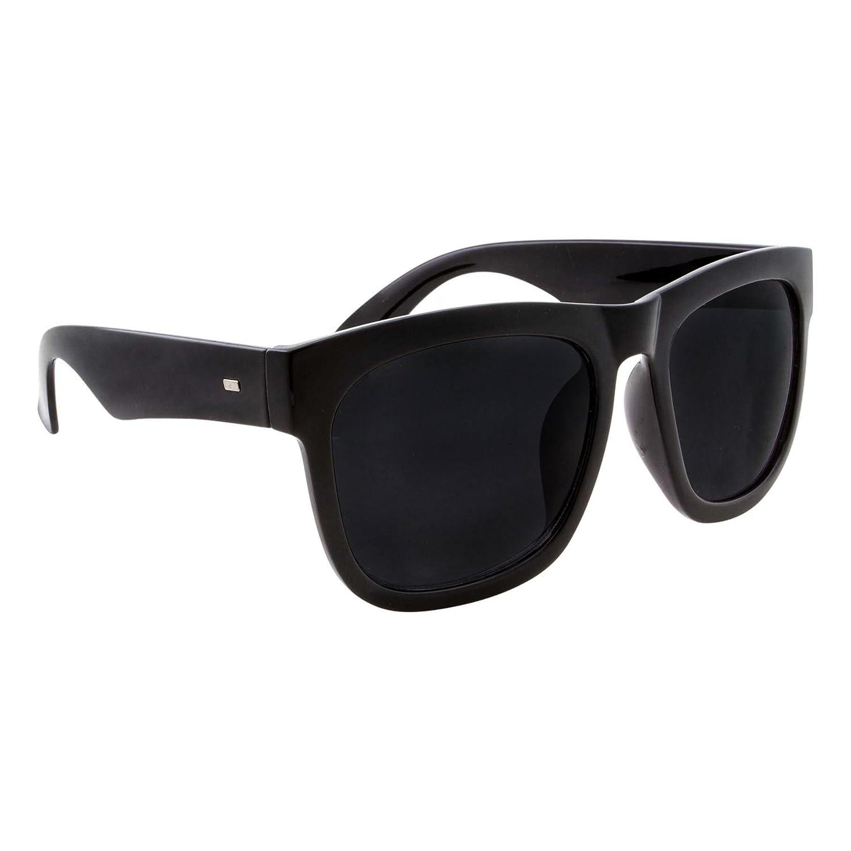 024f37d62d905 Amazon.com  XL Men s Big Wide Frame Black Sunglasses - Oversized Thick  Extra Large Square (Matte Black)  Clothing