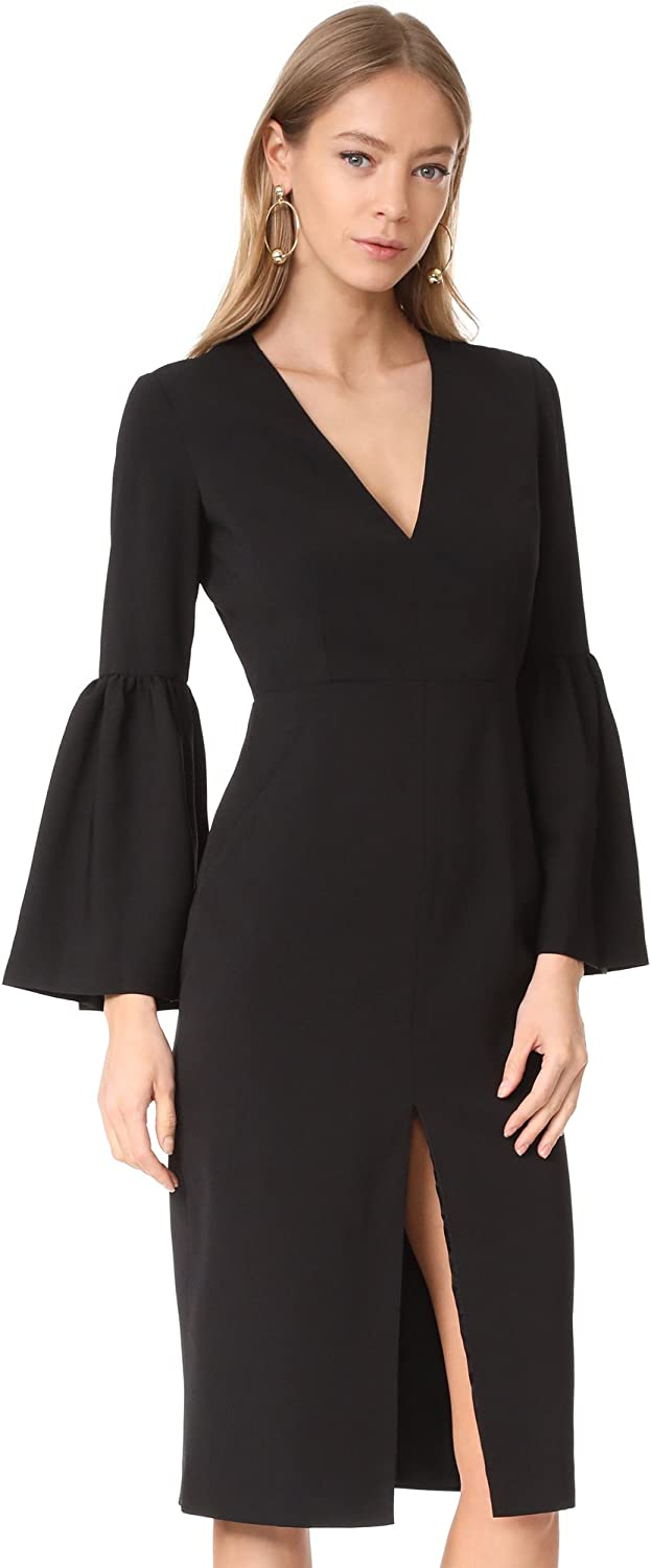 Jill Stuart Women's V Neck with Indianapolis Mall Dress Ranking integrated 1st place Bell Sleeves