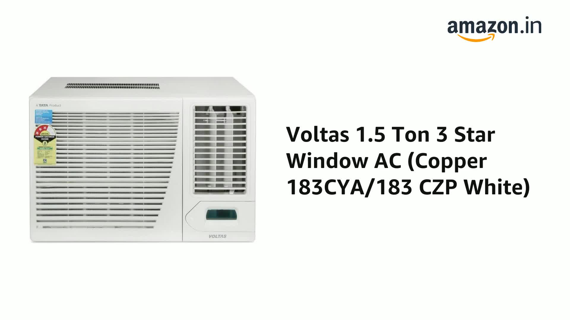 Voltas 1.5 Ton Window AC 3 Star 1