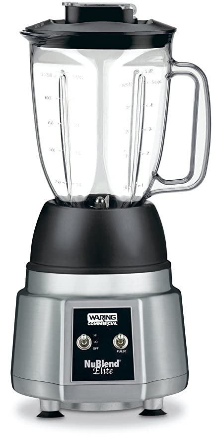 Amazon waring commercial bb190 nublend 34 hp elite waring commercial bb190 nublend 34 hp elite commercial blender with 44 ounce polycarbonate sciox Images
