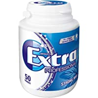 Wrigley's Extra Professional Strong Mint Dose, 50 Dragees, 1er Pack (1 x 50 Dragees)