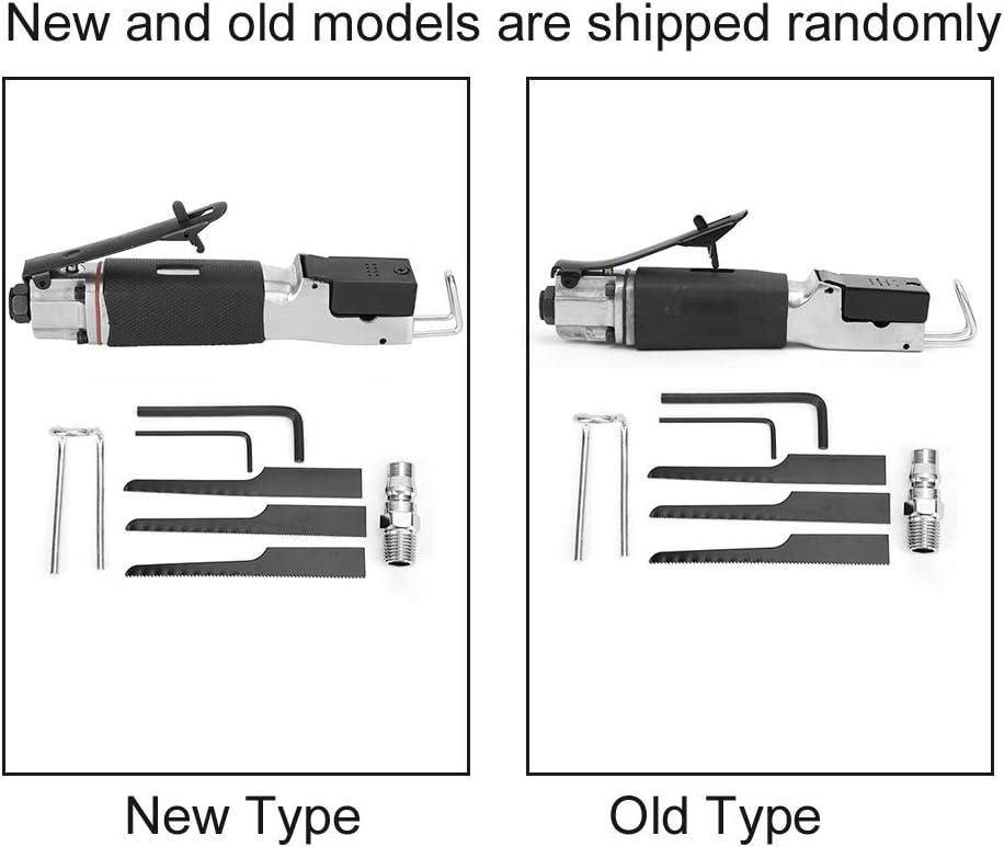 parte di collega Sega alternativa a corpo pneumatico sega alternativa pneumatica da 1//4 di pollice 2 x chiave esagonale utensile da taglio per seghe alternative multifunzione con 3 x lama per sega