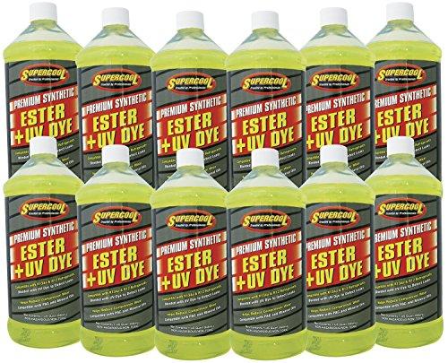 TSI Supercool E32-12CP Ester Oil Plus U/V Dye - 1 quart, 12 Pack by TSI Supercool