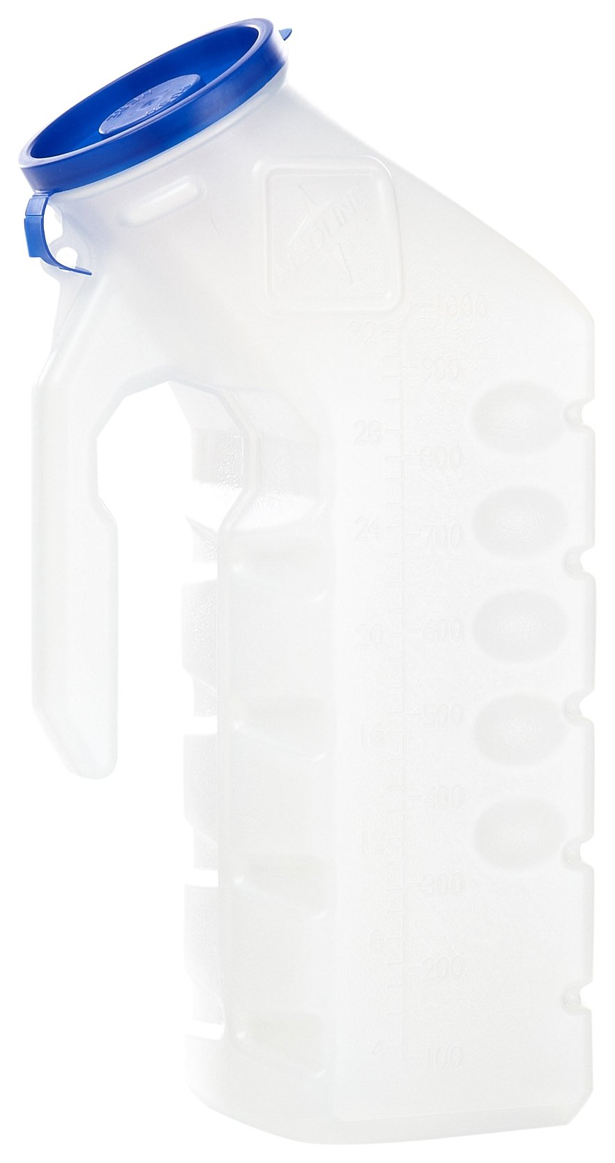 MEDLINE DYND80235SD Urinal with Glow-in-the-Dark Lid