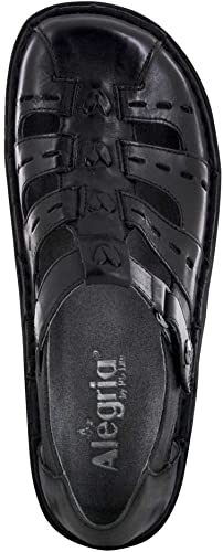 Women/'s Alegria by PG Lite Pesca Black Butter Leather
