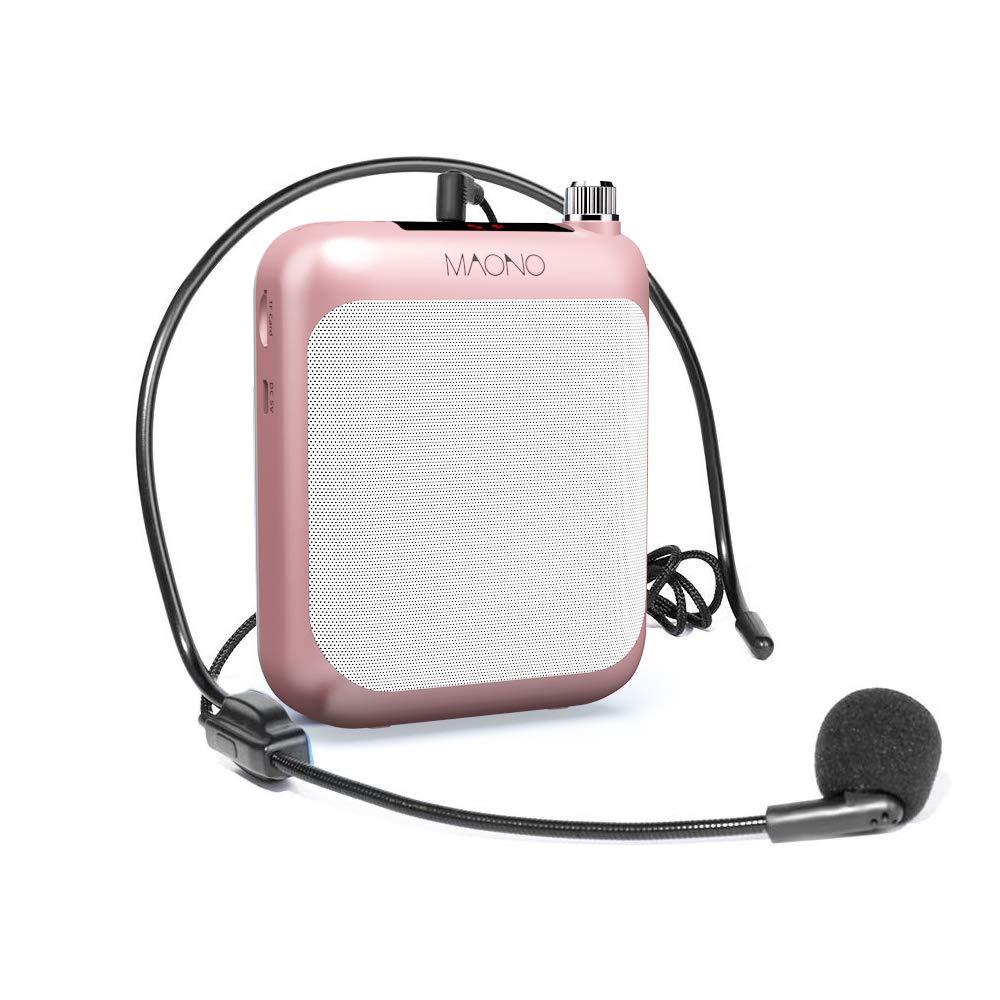 Maono AU-C01 Portable Rechargeable Voice Amplifier With FM