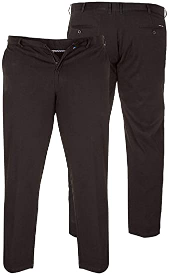 "**NEW** Mens Big Size Duke Classic Smart Trousers Waist 46/"" to 54/"" Leg 29//31"