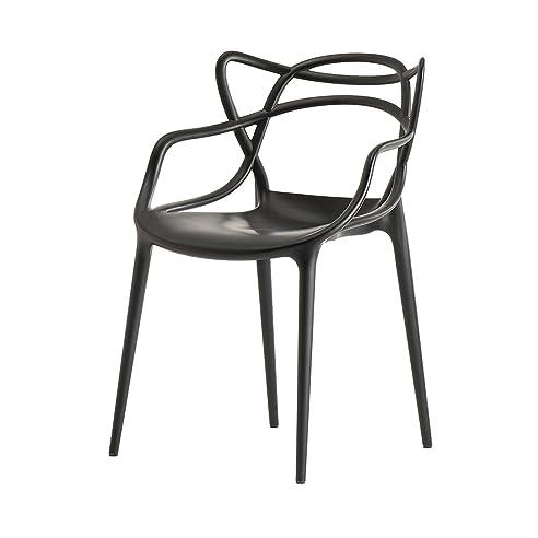 Kartell 586509 Stuhl Masters, schwarz: Philippe Starck: Amazon.de ...