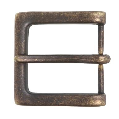 scegli autentico aspetto dettagliato ultima selezione del 2019 Beltiscool, fibbia quadrata per cintura da uomo, 38 mm