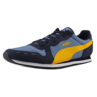 Puma Men s Cabana Racer Fun 35839712 Blue Heaven Gold Fusion (7.5 ... 625fe7e34