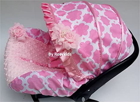 Infant carseat Canopy Cover 3 PC Conjunto Caboodle Kit ...