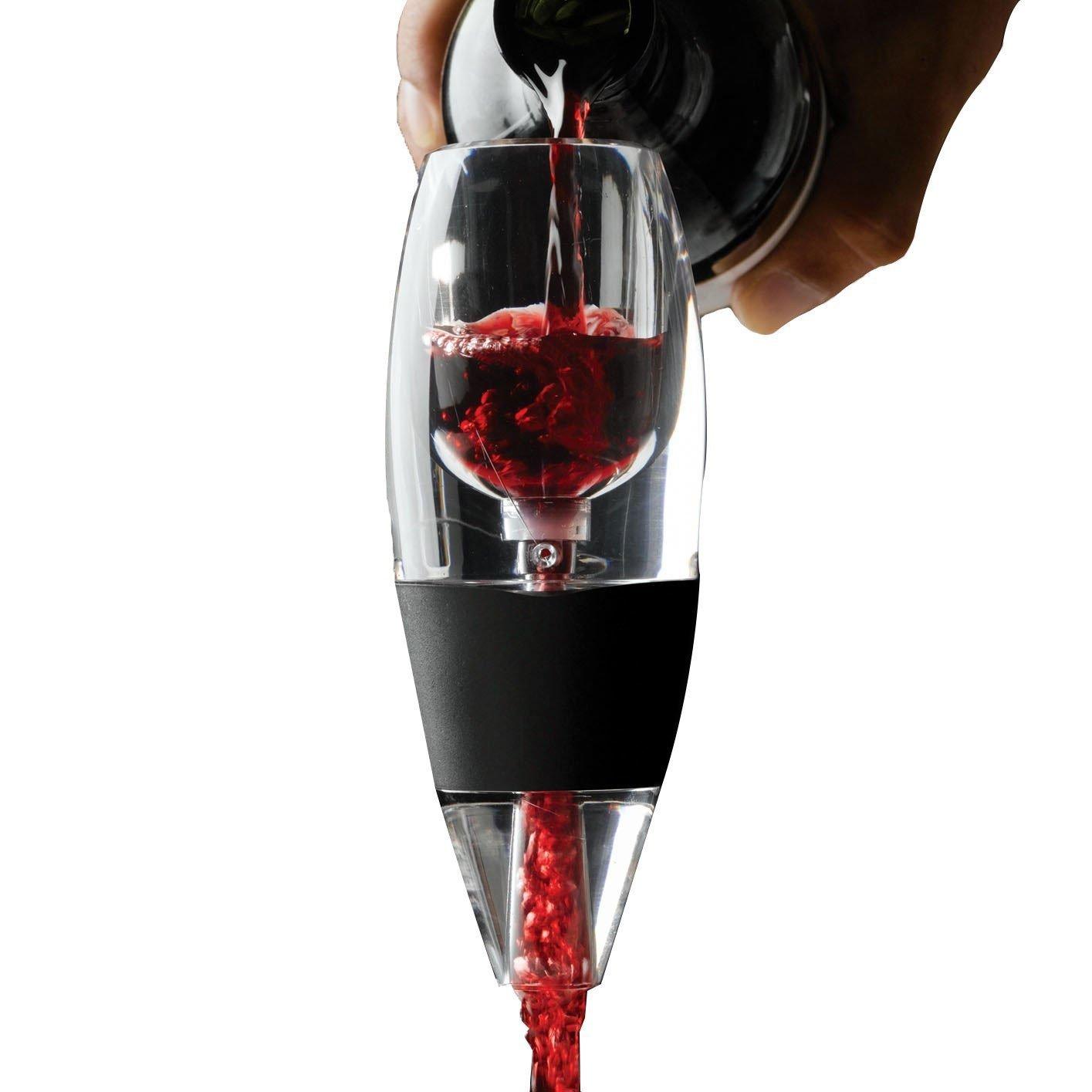 Seakin D/écanteur /à Vin// A/érateur de Vin D/écantation Rapide avec Filtre de Vin Petite Carafes /à d/écanter Rapide